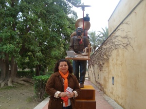 escultura de Curro González