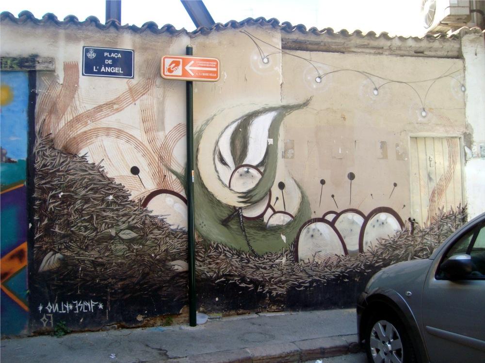 Genial Graffiti de Valencia, España. (1/3)