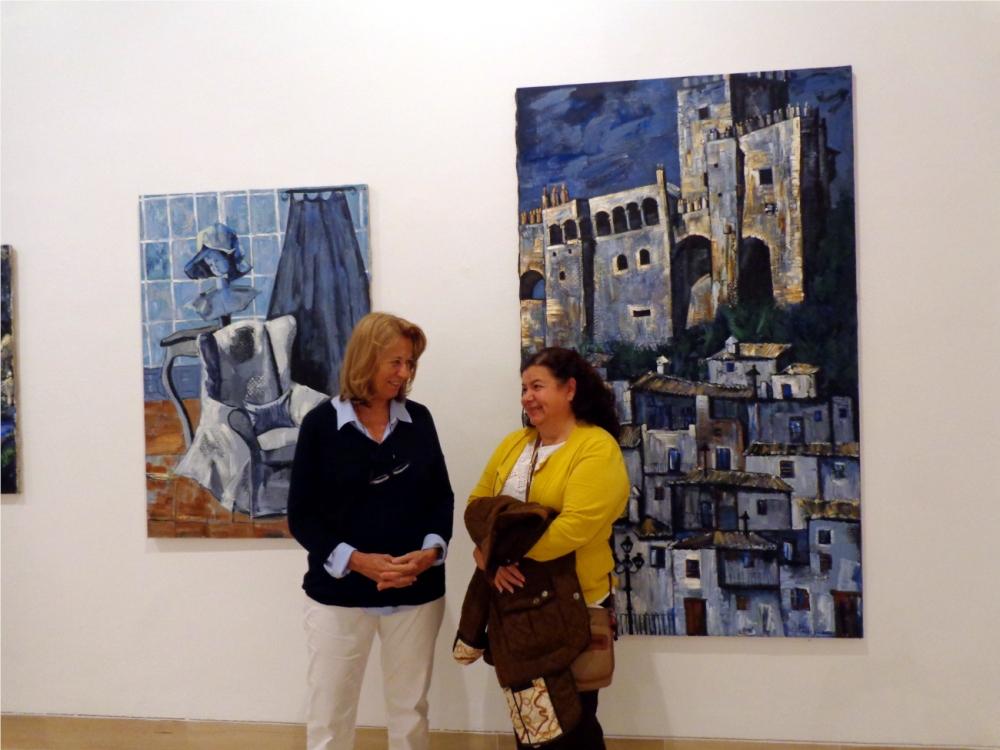 Exposición de Mercedes Gómez Pablos en Sevilla (1/6)