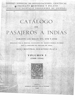 CATALOGO DE PASAJEROS
